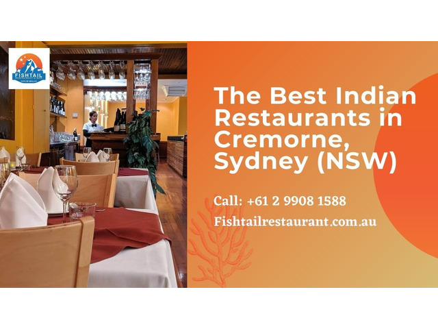 The Best Indian Restaurants in Cremorne, Sydney (NSW) | Fishtail Restaurant and Bar - 1