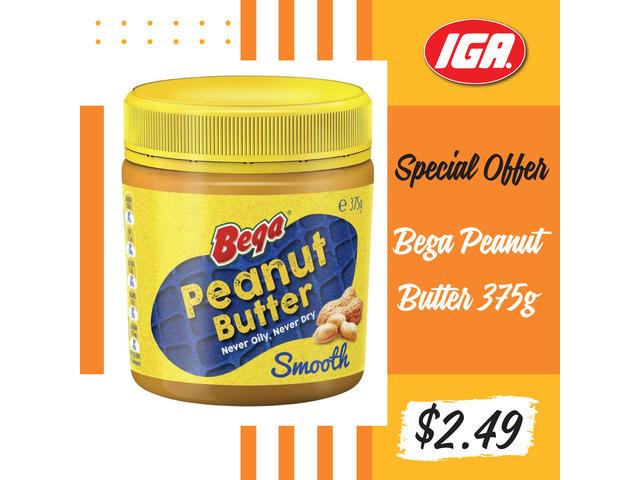 Special Bega Peanut Butter Offer at IGA Ravenswood - 1