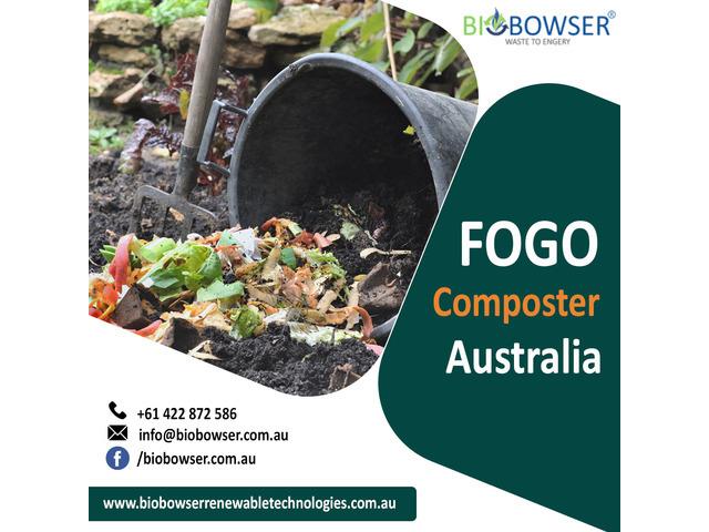 FOGO Composter Australia - 1