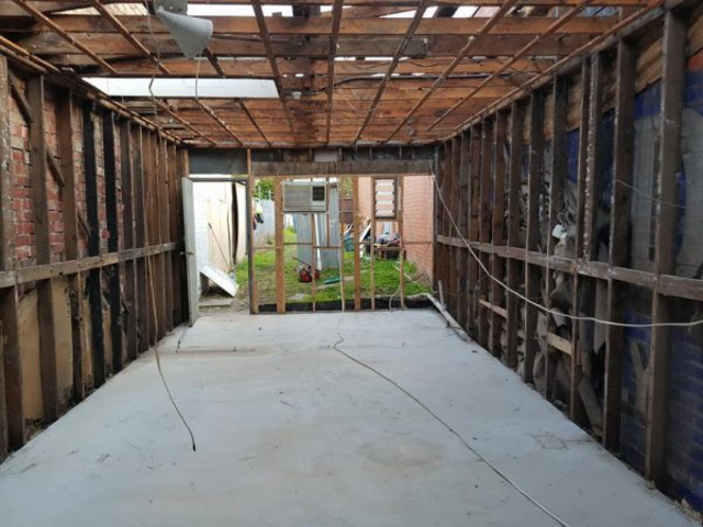 Asbestos Roof Removal - 1