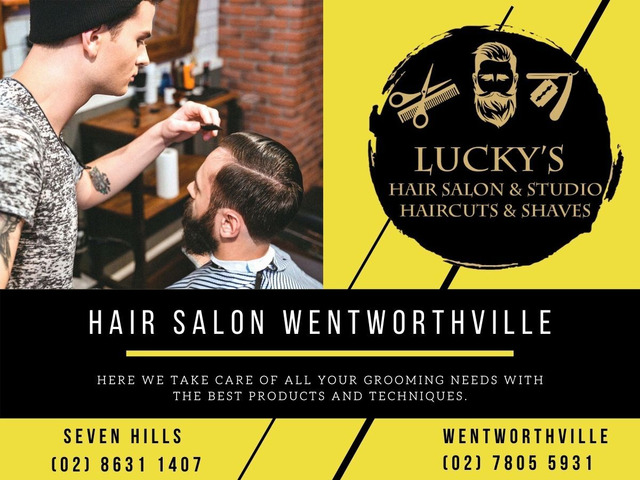 Hair Salon Wentworthville – Lucky Hair Studio - 1