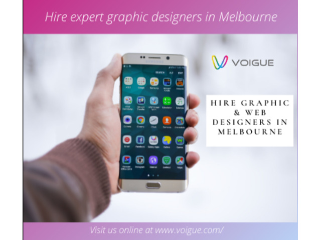 Hire graphic designers from Melbourne - Voigue Outsourcing - 1
