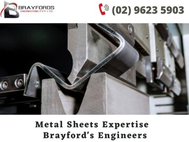 Hire Metal Sheet Fabrication Expertise - Brayford's Engineering - 1