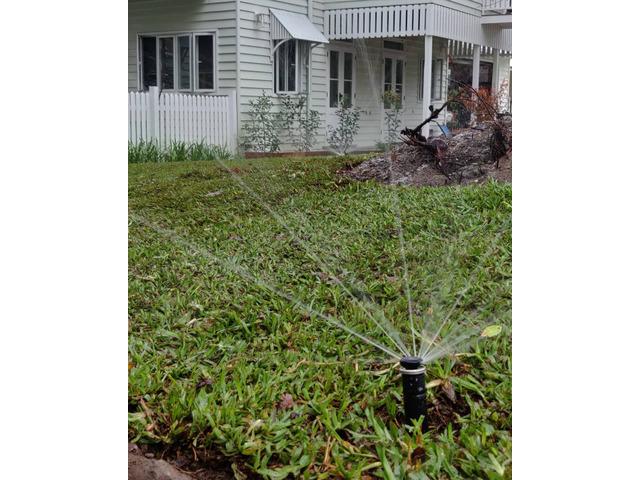 Fully automatic 8 station irrigation set up - 3