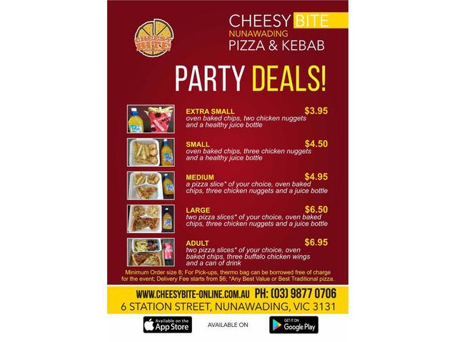 Best Pizza Restaurant Nunawading-Cheesy bites - 1