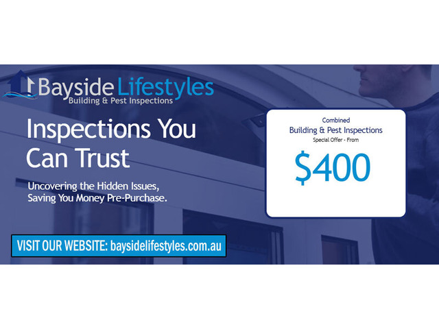 Building & Pest Inspections Services - Bayside Lifestyles - 1