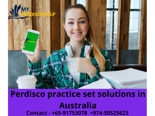 Perdisco practice set solutions - 1