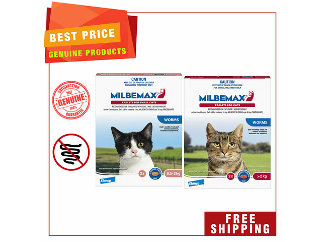 Milbemax- trusted worm control for cats - 1