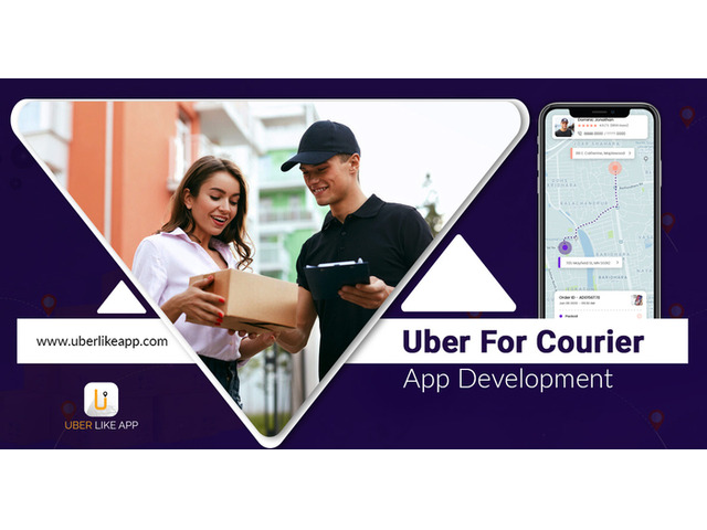 Boost your business with courier service app development - 1
