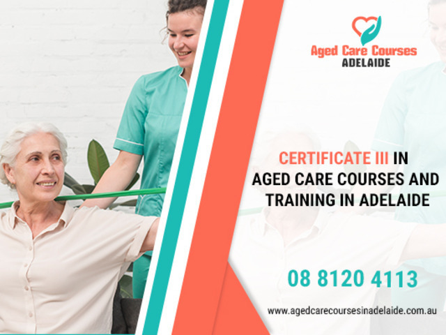 Enter In Aged Care Sector By Getting Certificate 3 In Aged Care - 1
