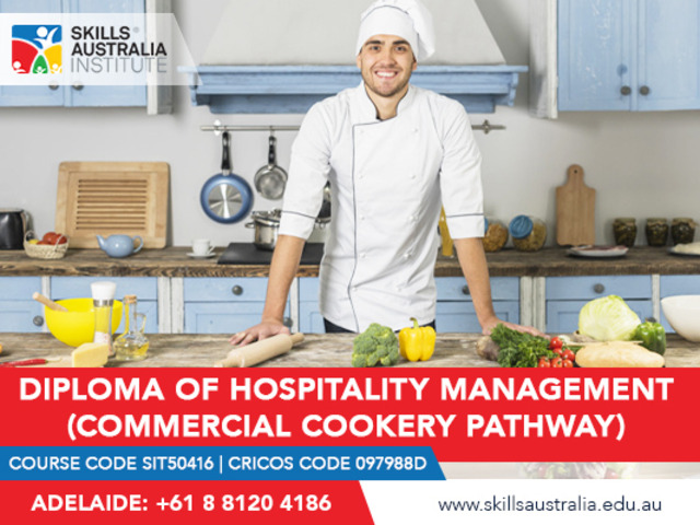 Learn the skills of cooking with our diploma in commercial cookery. - 1