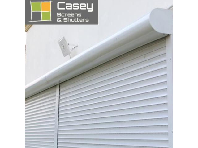 Motorized roller shutters Melbourne | Caseyscreensandshutter - 1
