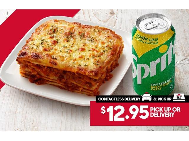 PASTA COMBO On Sale Pizza Hut Orange - Orange, NSW - 1