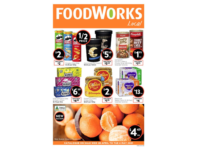 Weekly Catalogue Specials at Foodworks Orange - 1