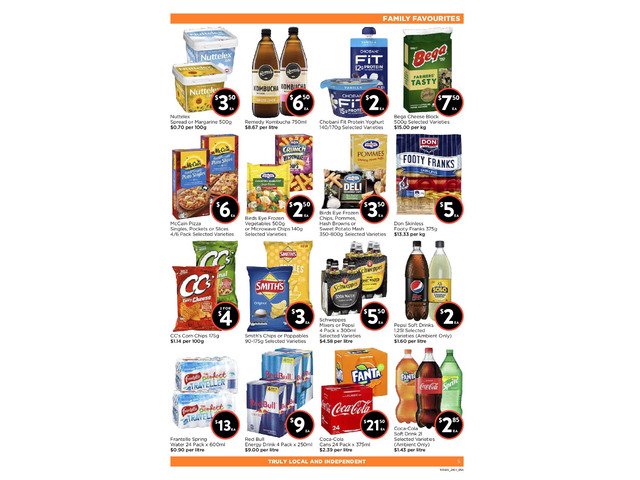 FAMILY FAVOURITES  From FoodWorks Orange - 1