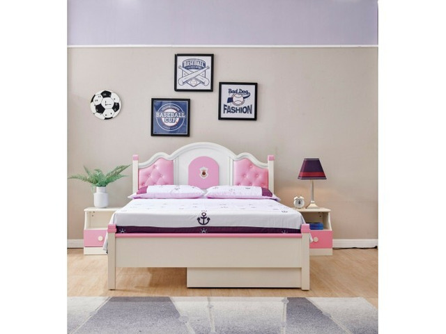 Fantastic Double Bed With Trundle - 1
