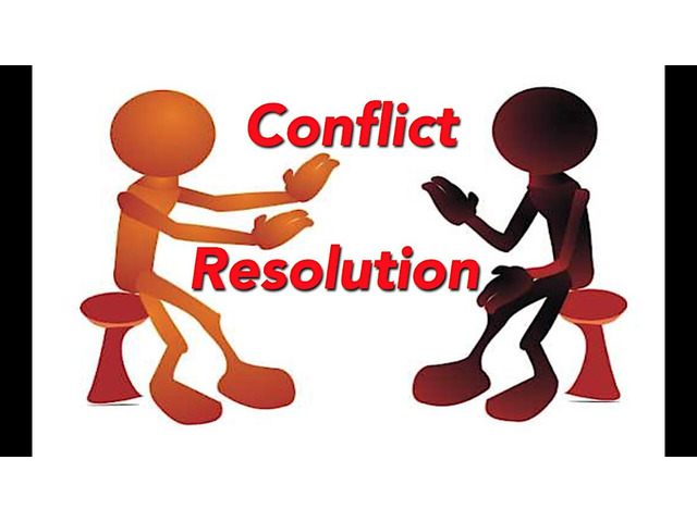 Conflict and Resolution Process - 1
