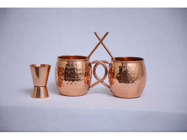 Handcrafted Moscow Mule Mugs for Your Drinking Pleasure - 1