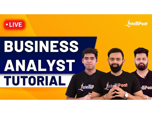 Business Analyst Training   Business Analyst Full Course   Business Analyst   Intellipaat - 1