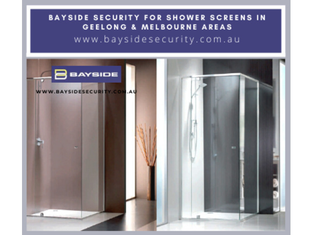Contact Bayside Security for shower screens in Geelong & Melbourne areas - 1