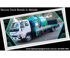 Hire Septic Pumping Services - Vacuum Truck Hire Adelaide