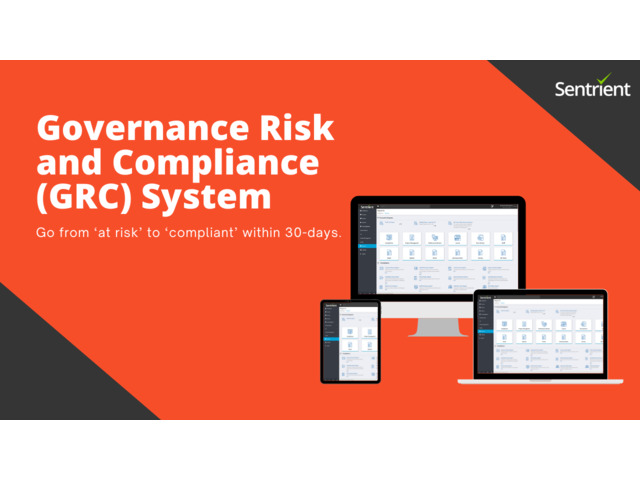 Governance Risk and Compliance GRC System by Sentrient - 1