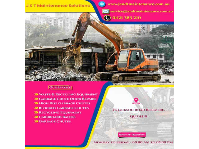Hire The Best Professional Waste Equipment Preventive Maintenance Support - 1