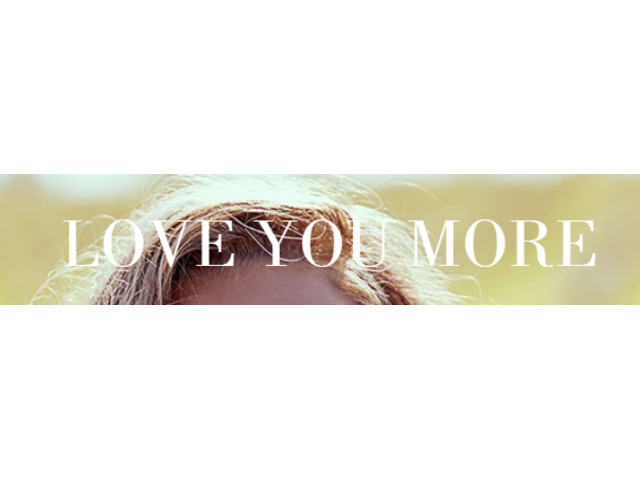 Love You More - 1
