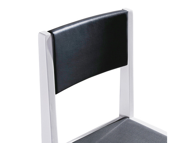 2X Baily Dining Chair Black & White - 1