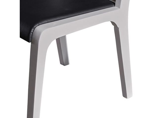 2X Baily Dining Chair Black & White - 2