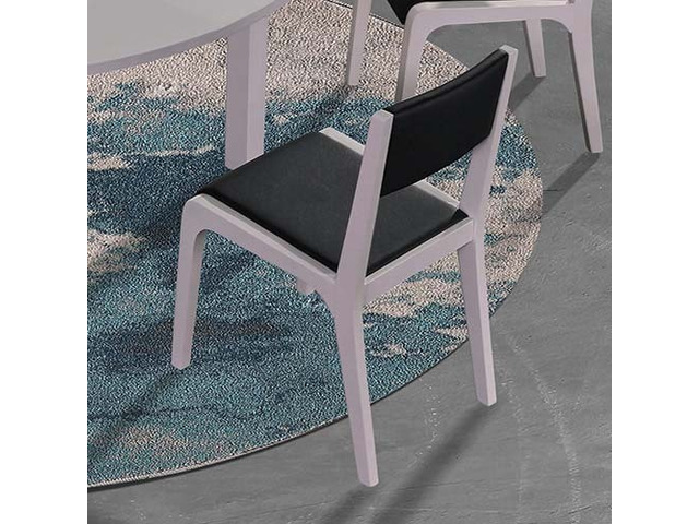2X Baily Dining Chair Black & White - 3