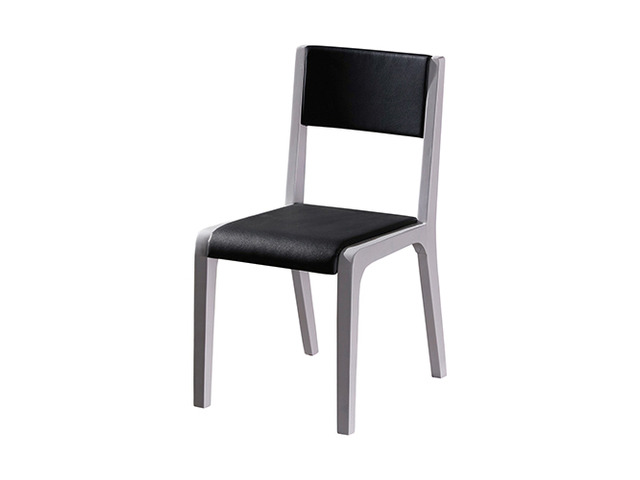 2X Baily Dining Chair Black & White - 4