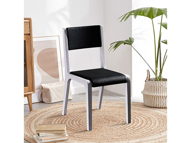 2X Baily Dining Chair Black & White - 6