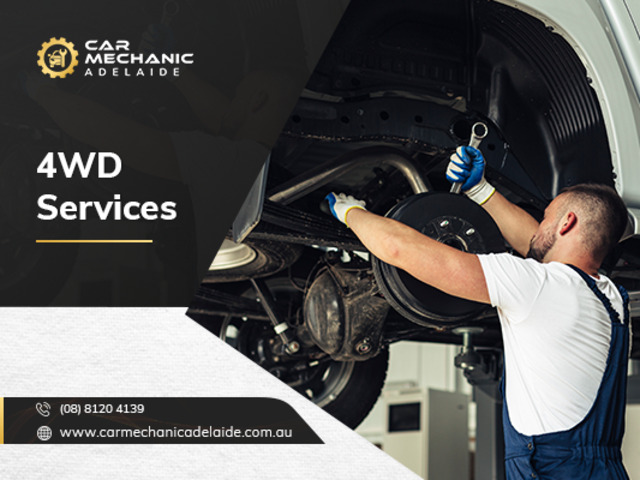 Get Your Service For 4WD At Best Car Repair Shop In Adelaide. - 1
