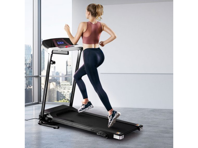Electric Treadmill Home Gym Fitness Equipment Incline Running Exercise Machine - 1