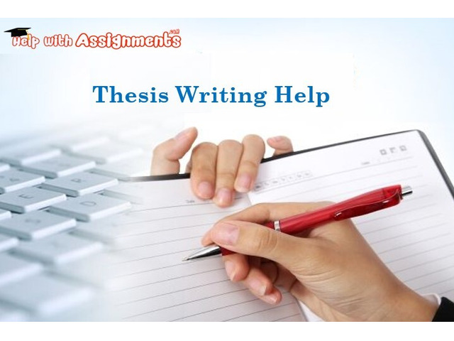 Thesis Writing Help - 1