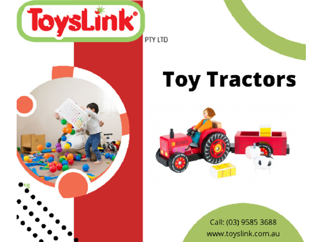 Induce Joy in Your Child's Life with Toy Tractors - 1