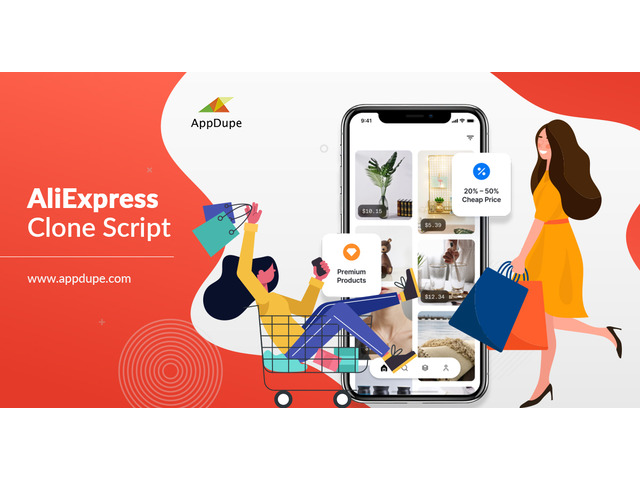 Earn millions quickly by coming out with the AliExpress like app - 1