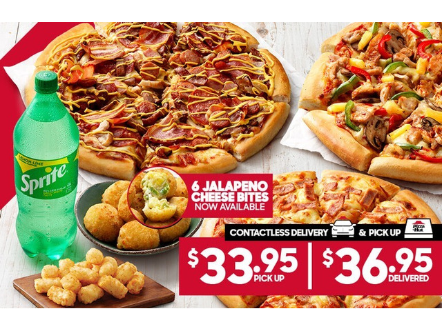 3 Large Pizzas On Sale Pizza Hut Orange - Orange, NSW - 1