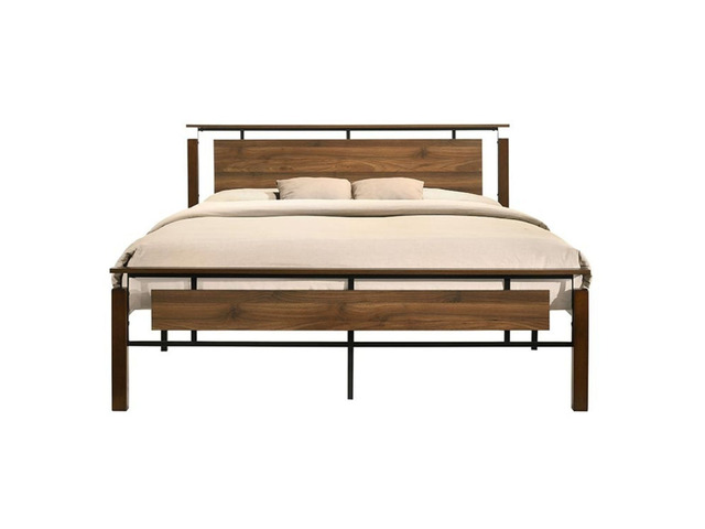 Nicole Industrial Bed King Size - 1