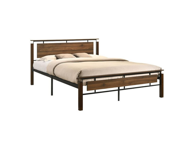 Nicole Industrial Bed King Size - 5