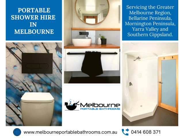 Portable Shower Hire In Melbourne - 1
