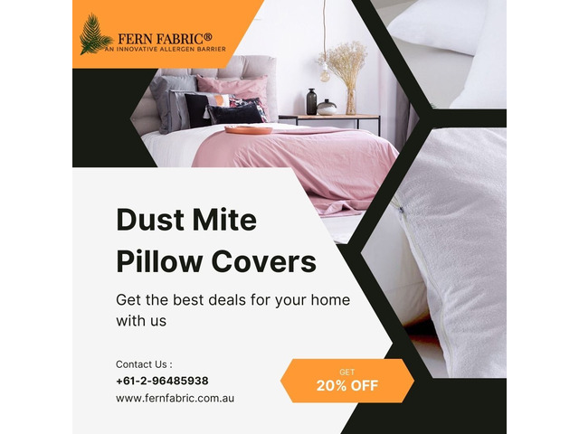 Dust mite pillow covers - 1