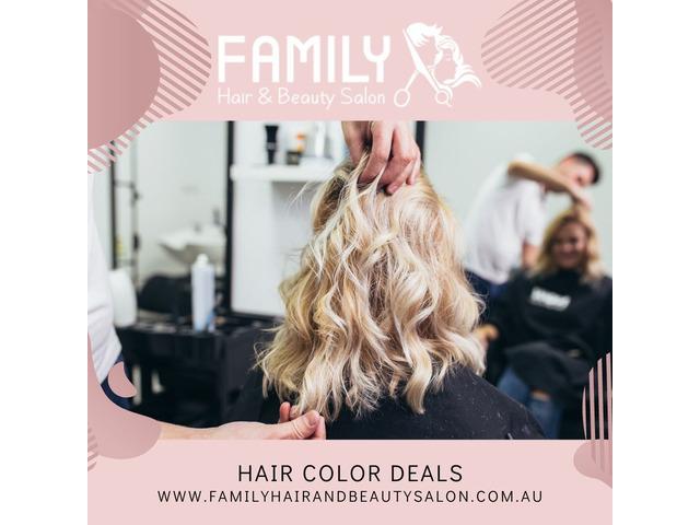 Hair Colour Packages near Me    Hair  Colour Deals Sydney   Hair Deals near Me - 1
