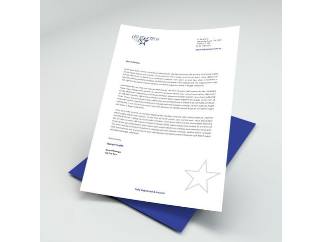 Best Letterhead Printing Services in Melbourne - 1
