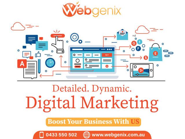 Webgenix-Web Design & Digital Marketing Agency - 1