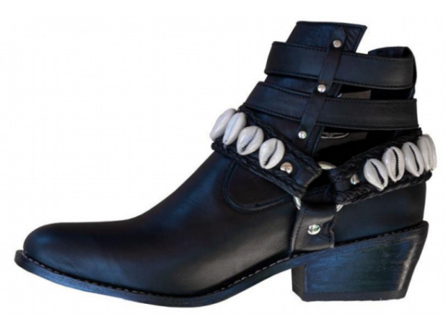 Cowrie Boot    Tirzart Boutique - 1