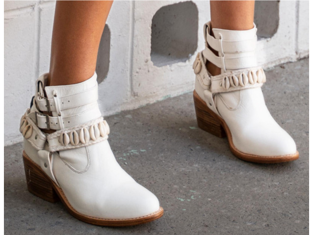Cowrie Boot    Tirzart Boutique - 3