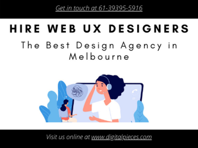 Hire web design service providers from Melbourne – Digital Pieces - 1