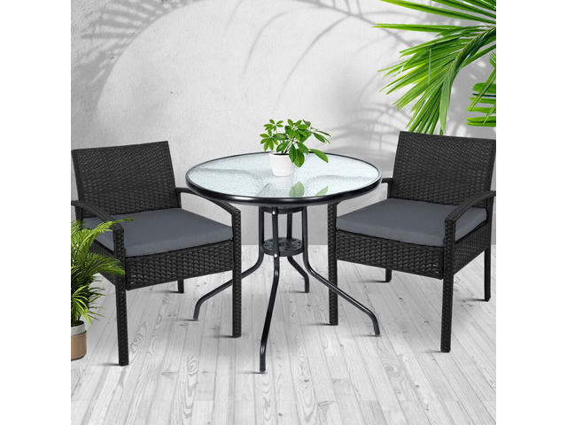 Gardeon Outdoor Furniture Dining Chairs - 3